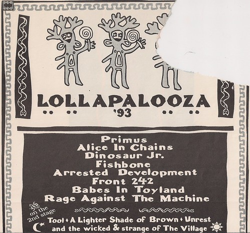 June-July 1993 Lollapalooza Ad IA-MN-IL (Top)