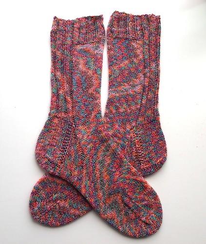 Hannah's B-day socks