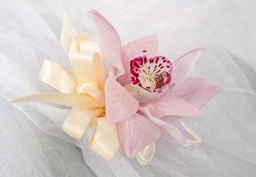 Orchid Corsage - Emily Gorg and Ardith Beveridge, AAF, AIFD, PFCI, CAFA