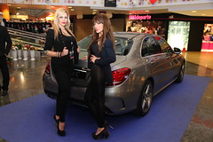 23-Citycar Sur presenta los nuevos Mercedes-Benz Clase C y GLA con la espectacular actuación de Nancys Rubias