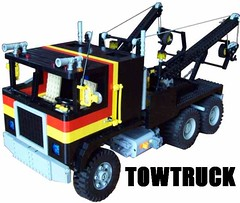 Tow Truck (Ciezarowkaz) Tags: truck power lego international technic hayes functions 113 freightliner