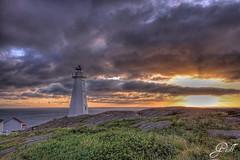 Cape Spear, Newfoundland (gwhiteway) Tags: morning travel lighthouse canada tourism sunrise newfoundland hdr capespear cans2s hdraward wbnawcnnl