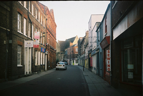 wisbech captured on a vintage halina super 35x