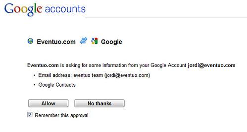 eventuo <3 Google's OpenID