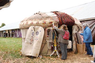 rhinebeck yurt