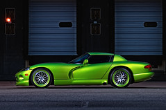 Dodge Viper RT/10 Profile (ojsantiago21) Tags: green nikon skin snake dodge viper ssg hre d300 alienbees 8020028 rt10 automotivephotographer ojsantiago cybersync