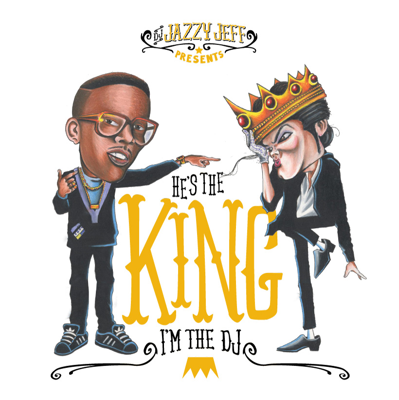 DJ Jazzy Jeff did the best tribute to Michael Jackson I've heard.  Check it out for yourself.