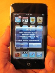 PNS on an ipod/iphone using Prowl