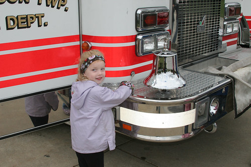 Grace at Fire Station