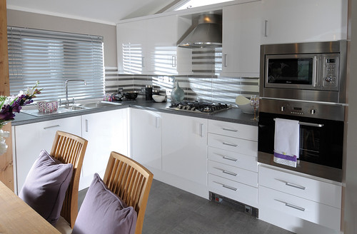 Holiday Lodges - The Contemporary Lodge - Wessex Park Homes 2