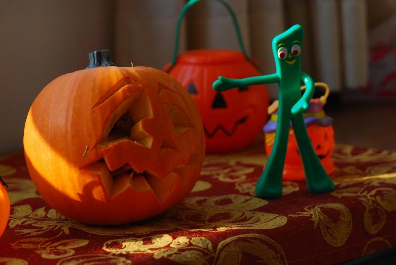 Gumby Pumpkin