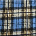 Blue n Black Plaid Corduroy