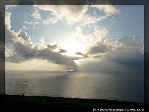 View from Guanshan to Taiwan Strait