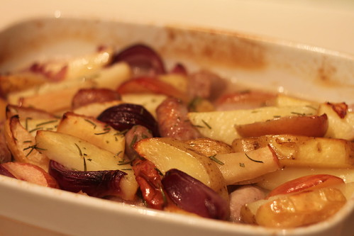 Sausage, Apple & Potato Casserole (1)