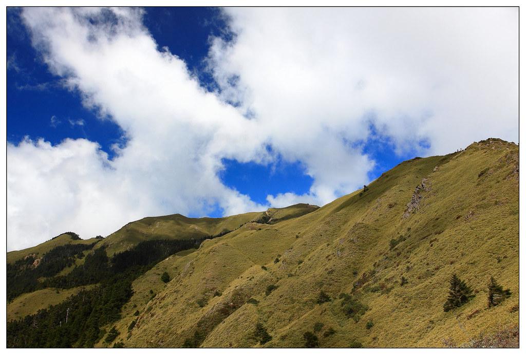壯闊的山脈起伏