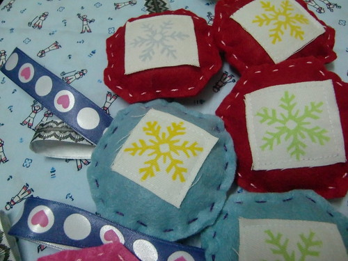 Christmas Ornaments - Snowflakes