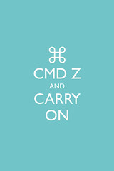 Command Z (Seven_Hundred) Tags: apple mac delete x calm and keep parody british z command carry zed undo on cmd