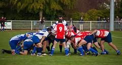 Rugby: RCSA vs St Dizier