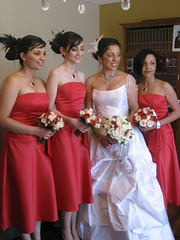 WEDDING HAIR SERVICES MELBOURNE (hmallure) Tags: flowers roses white face hair bride necklace eyes makeup weddingdress jewels hairstyle bridalparty hairpiece photograpy fasinator