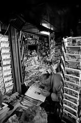 the reader Rome Italy (sm_art) Tags: man reading newspapers bookstall romeitalyeuropeita