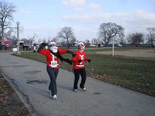 Erica and Shannon finishing