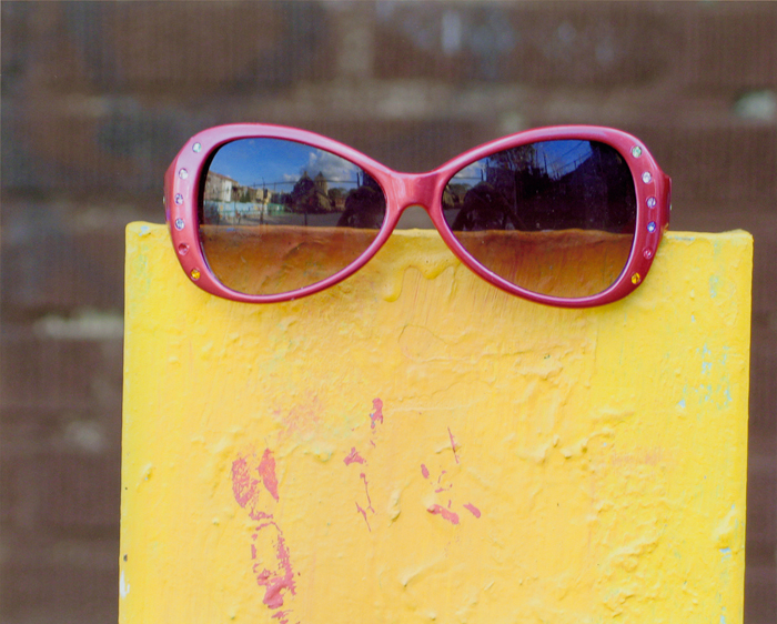 Pink Sunglasses by Vanessa, Age 9