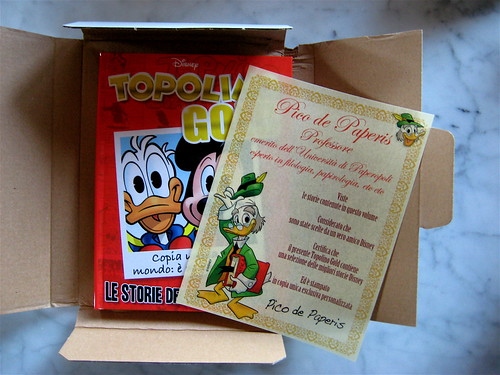 Topolino Gold, copia di Giovanni