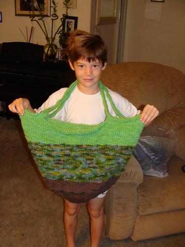 Green Felted Bag (1)