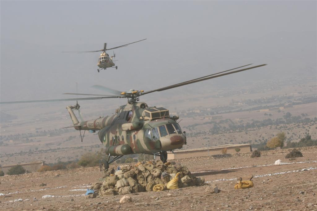 Pakistan Army Helicopters (Military Operation) Exclusive