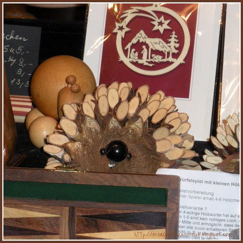 Silly Wooden Hedgehog
