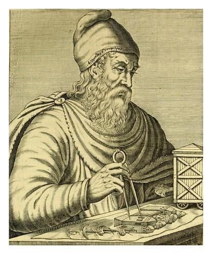 004-Arquimedes-Les vrais pourtraits et vies des hommes illustres grecz, latins et payens 1584-André Thevet