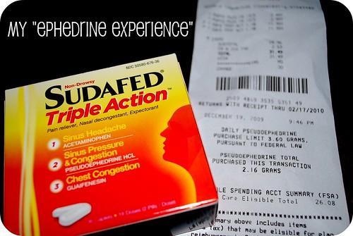 My Ephedrine Experience