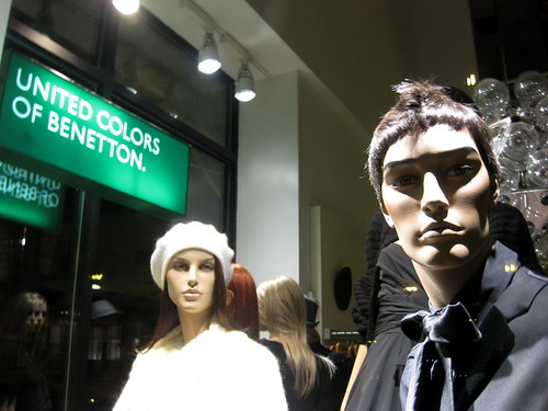 United Mannequins of Benetton