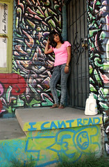 Susanna Photo Shoot #2 (Hello_Anne7800) Tags: urban graffiti downtown shoot sunny az phx conspireicantread