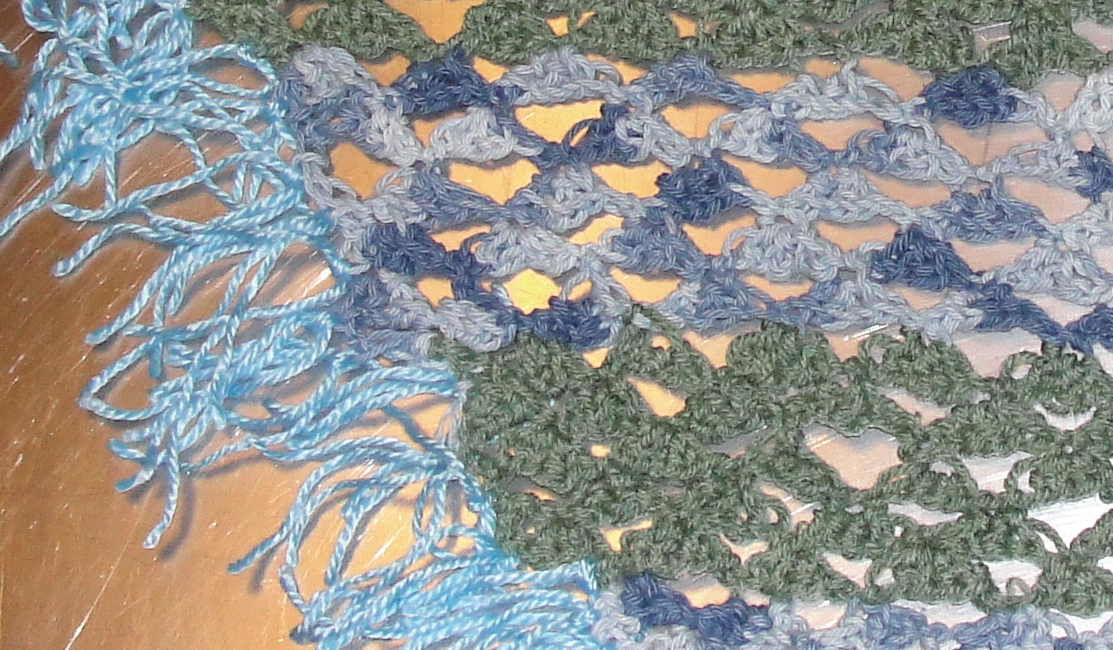 shawl detail