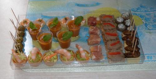 Xmas dinner - miniature starters