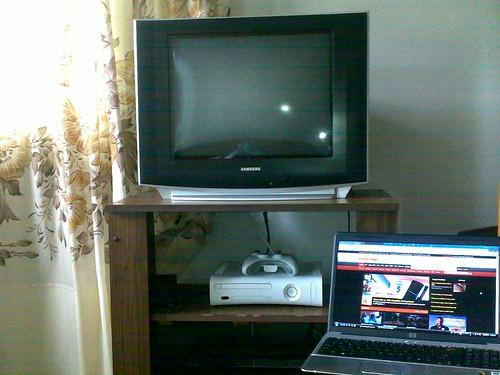 My hole setup