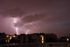 Lightning (lukeyan91) Tags: sky home nature rain night thunderstorm lightning therebeastormabrewin