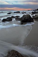 el matador rocks (LandKat) Tags: ocean california sunset beach nature water landscape rocks waves pacific elmatador