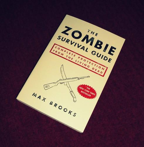 book zombie survival livingdead maxbrooks