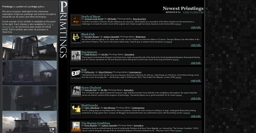 primtings.com screenshot 20100110