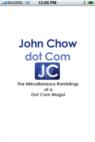 John Chow iPhone App
