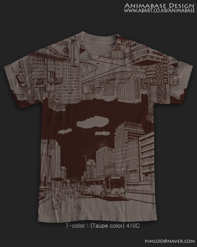 (Taupe color) Reverse city