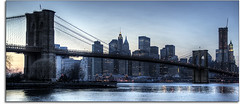 Brooklyn Bridge (kw~ny) Tags: nyc usa newyork brooklyn manhattan dumbo brooklynbridge eastriver hdr kevinwoods