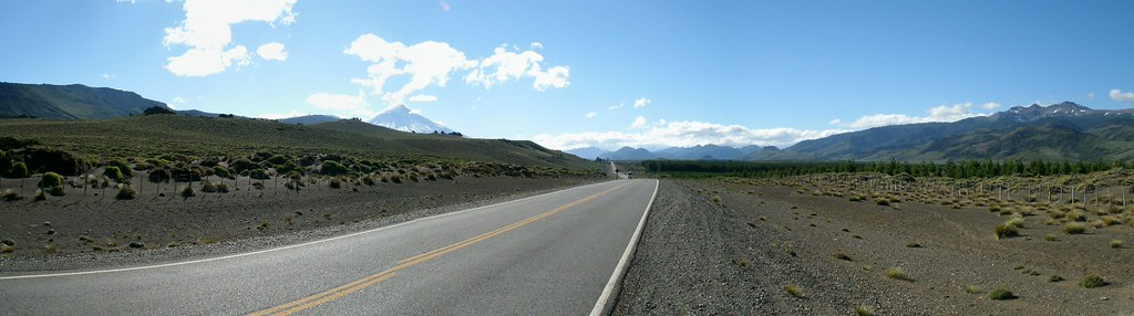 Panarama with Volcan Lanin
