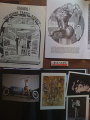 Inspirations and studies (American Ethnography Quasimonthly) Tags: spirit tennis hotrod pinup robertcrumb juxtapoz willeisner davidperry serenawilliams williamsburroughs caramba carculture irvingklaw georgesbraque beemans violinandcandlestick