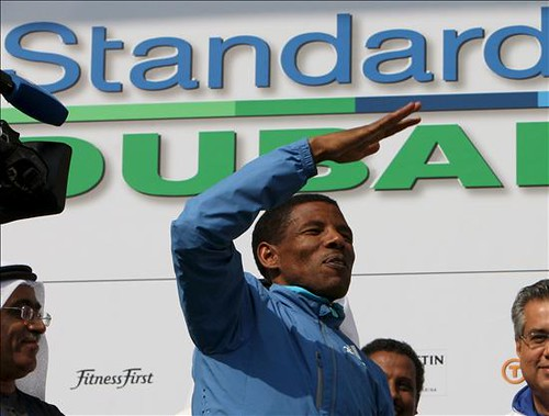 Haile Gebrselassie Maraton Dubai