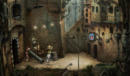 Machinarium screen shot
