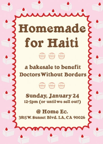 Homemade for Haiti