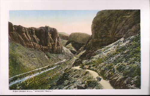 Fish Creek Hill Apache Trail